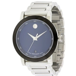 Movado Museum Stainless Steel Mens Watch 0607004