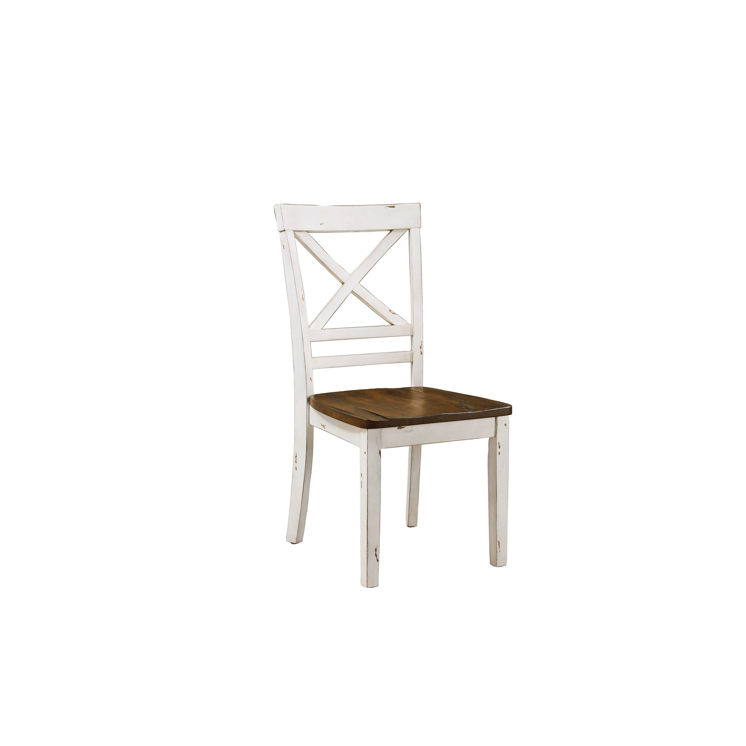 Standard Furniture Amelia Brown And White Wood 5 Piece Dining Table And Chairs Set Overstock 17178445