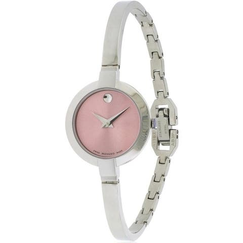 Movado Bela Stainless Steel Ladies Watch 0606596