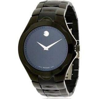 Movado Luno Sport Black Mens Watch 0606536