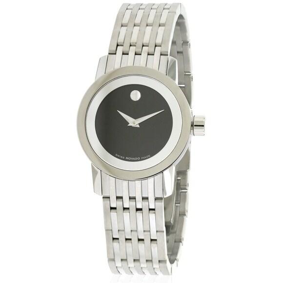 Movado Esperanza Ladies Watch 0606645, Black, Size One Si...