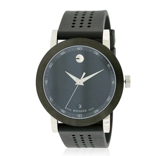 Movado Museum Sport Rubber Mens Watch 0606507
