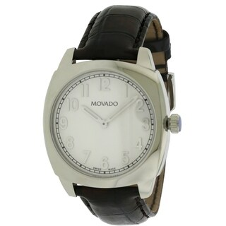 Movado Circa Leather Mens Watch 0606587