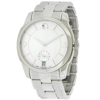 Movado LX Stainless Steel Mens Watch 0606627