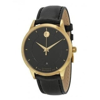 Movado 1881 Automatic Leather Mens Watch 0606875