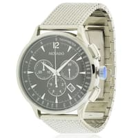 Movado Circa Stainless Steel Mesh Chronograph Mens Watch