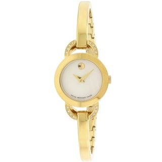 Movado Rondiro Gold-Tone Ladies Watch 0606889