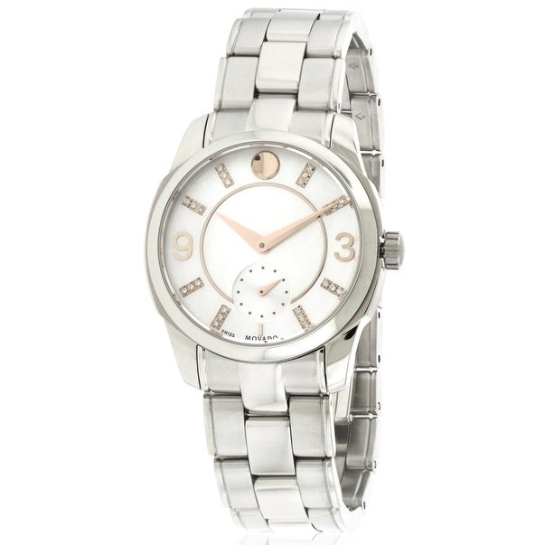Movado LX Diamond Ladies Watch 0606619, Mother of Pearl, ...