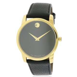 Movado Museum Classic Leather Mens Watch 0607014