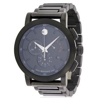 Movado Museum Sport Black Chronograph Mens Watch