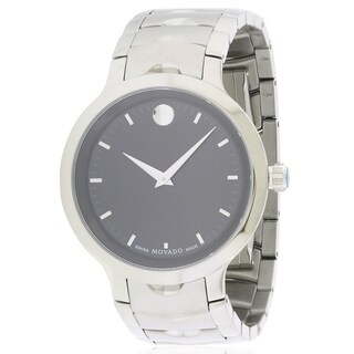 Movado Luno Stainless Steel Mens Watch 0607041