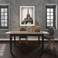 Legende Dining Table Knock-Down - Black