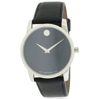 Movado Museum Leather Mens Watch 0607013
