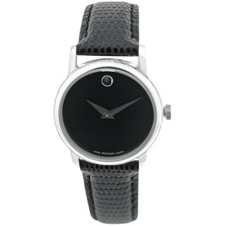 Movado Museum Leather Ladies Watch 2100004