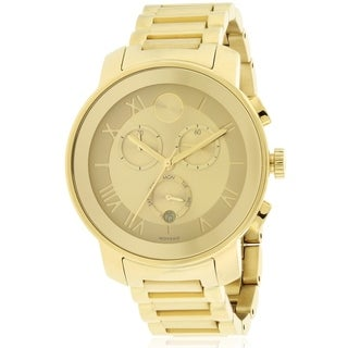 Movado Bold Gold Ion Chronograph Ladies Watch 3600209