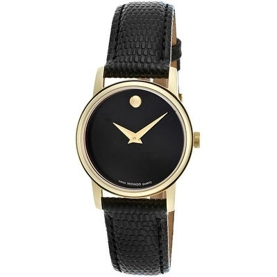 Movado Collection Leather Ladies Watch