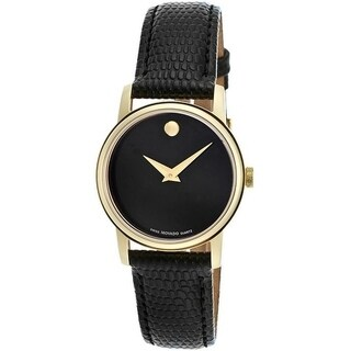 Movado Collection Leather Ladies Watch 2100006
