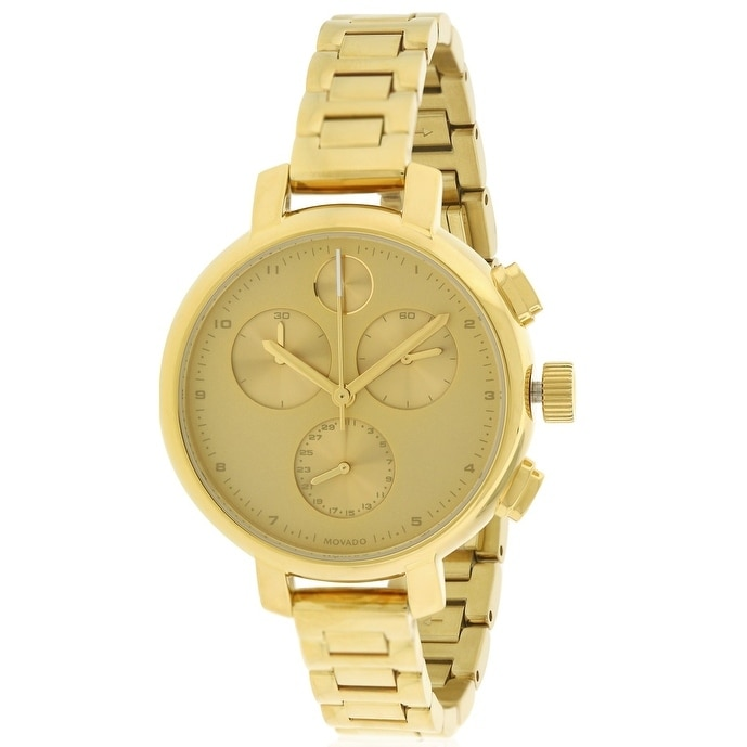Movado Bold Ladies Watch 3600239, Gold, Size One Size Fit...