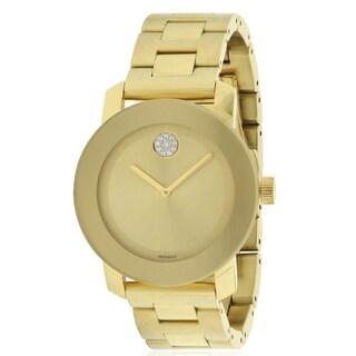 Movado Bold Gold Ion Watch