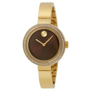 Movado Bold Gold-Tone Ladies Watch 3600282