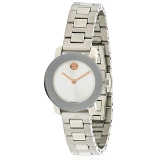 Movado Bold Stainless Steel Ladies Watch 3600234