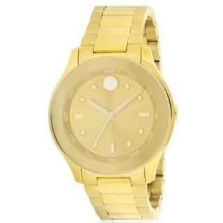 Movado Bold Gold-Tone Ladies Watch 3600416