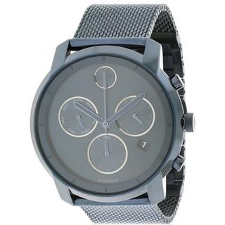 Movado Bold Ink Blue Chronograph Mens Watch 3600403
