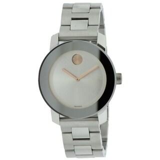 Movado Bold Medium Stainless Steel Watch 3600084