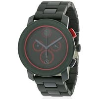 Movado Bold Grey Ion Chronograph Mens Watch