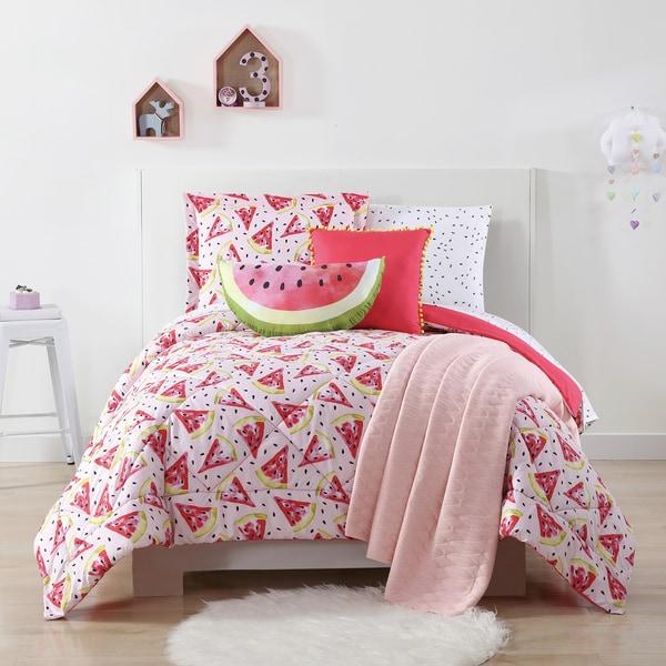 Laura Hart Kids Fruity Printed 3-piece Comforter Set