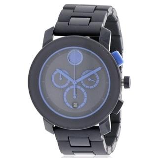 Movado Bold Navy Blue Mens Watch 3600270