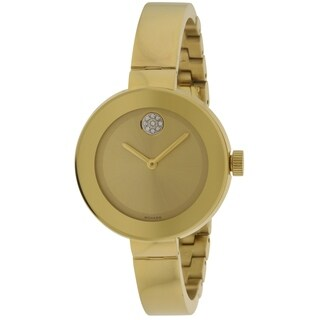 Movado Bold Gold Ion Ladies Watch 3600201