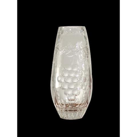 """Springdale 9""""H Grape Crystal Vase"""