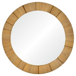Renwil Wesley Framed Round Wall Mirror
