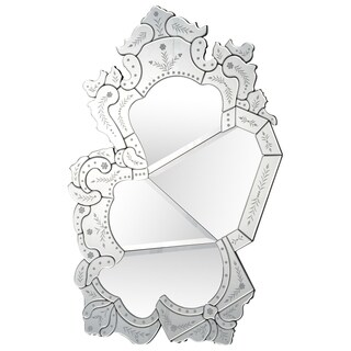 Renwil Mers Unframed Round Wall Mirror