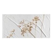 Kavka Designs White/Beige Still Life Beach Towel