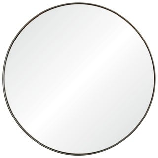 Renwil Gap Framed Round Wall Mirror