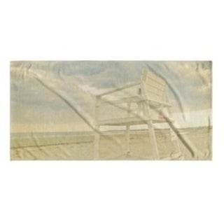 Kavka Designs Sand/Tan/Blue End of the Day Beach Towel
