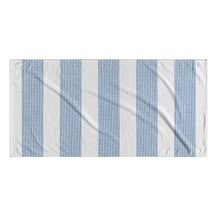 Kavka Designs Blue/White Centerville Beach Towel