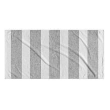 Kavka Designs Grey/White Centerville Beach Towel
