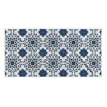 Kavka Designs Blue/White Truro Beach Towel