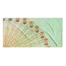 Kavka Designs Blue/Green/Ivory Daydreaming Beach Towel