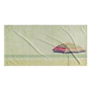 Kavka Designs Sand/Tan/Pink/Green Dream of Summer Beach Towel