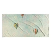 Kavka Designs Blue/Green/Yellow/Red Floating Beach Towel