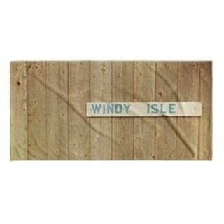 Kavka Designs Brown/Ivory/Blue Windy Isle Beach Towel