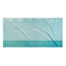 Kavka Designs Blue Sea of Blue Beach Towel