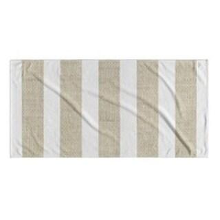 Kavka Designs Gold/White Centerville Beach Towel