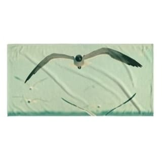 Kavka Designs Blue/Grey/White Gulls Beach Towel (Option: Wildlife)