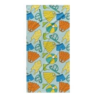 Kavka Designs Blue/Yellow Swimming Beach Towel