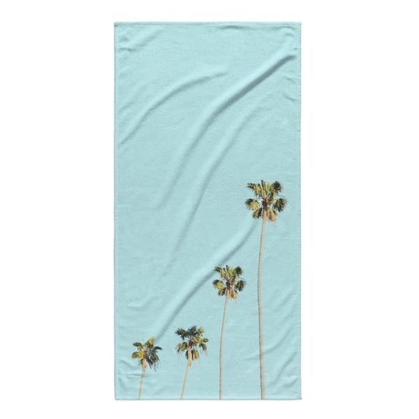 Kavka Designs Blue/Green/Tan Four Palms Beach Towel